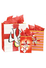 The Printery House Confirmation Gift Bag Medium Striped