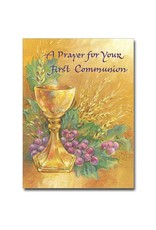 """The Printery House """"A Prayer"""" First Holy Communion Greeting Card"""