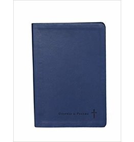 Our Sunday Visitor Journaling Through the Gospels and Psalms, Catholic Edition: Navy Colored Cover Leather Bound