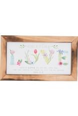 Carpentree Amazing Love Plaque