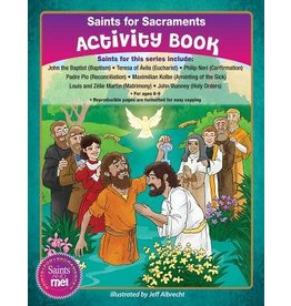 Ligouri Publications Saints For Sacraments Activity Books