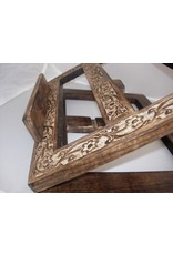 MDS Hand Carved Wooden Bible/Missal Stand
