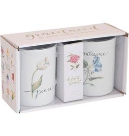 Carpentree Fruit of the Spirit Patience & Peace Boxed Mug Set