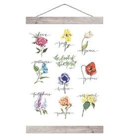 Carpentree Fruit of the Spirit Hanging Banner Art - GraceLaced For Carpentree