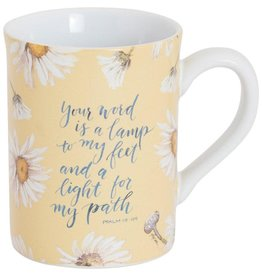 Carpentree Your Word Is A Lamp Mug - GraceLaced For Carpentree