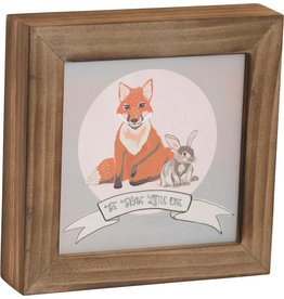 Carpentree Be Brave Little One Box Plaque