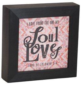 Carpentree Soul Loves Box Plaque