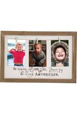 Carpentree Be Brave Clip Photo Frame