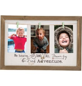 Carpentree Be Brave Clip Photo Frame