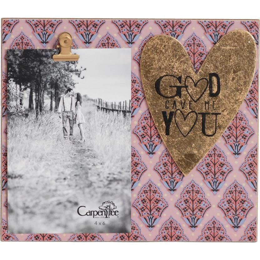 Carpentree God Gave Me You Photo Frame