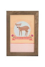 Carpentree Oh Deer Framed Wall Plaque