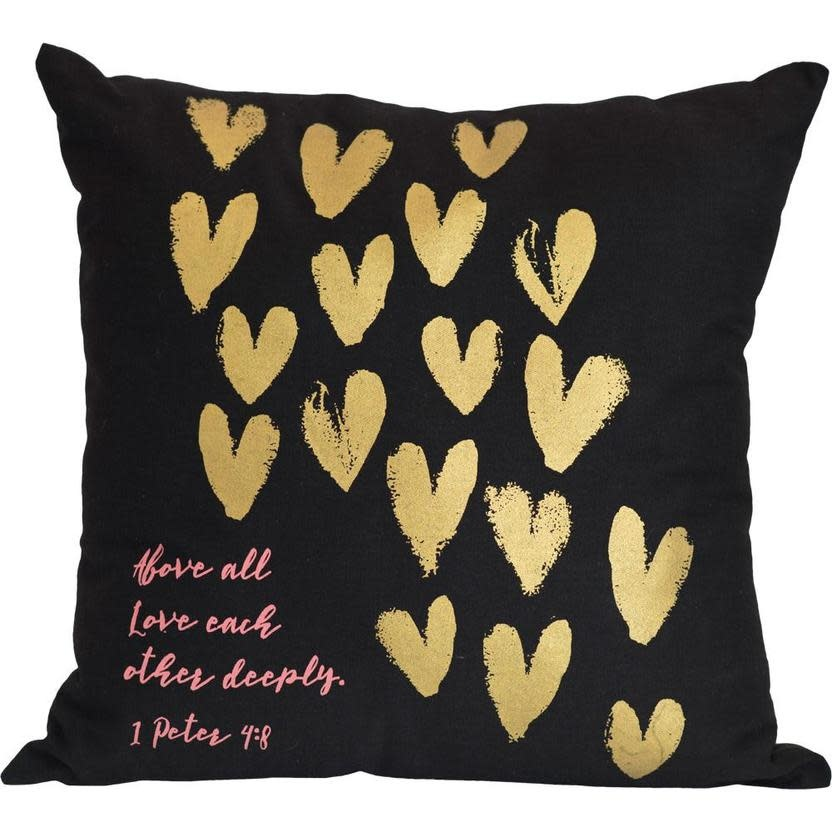 Carpentree Love Each Other Pillow