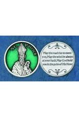 Lumen Mundi Green St. Patrick Pocket Token and Irish Blessing