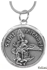 Oremus Mercy St. Michael Stainless Steel Locket