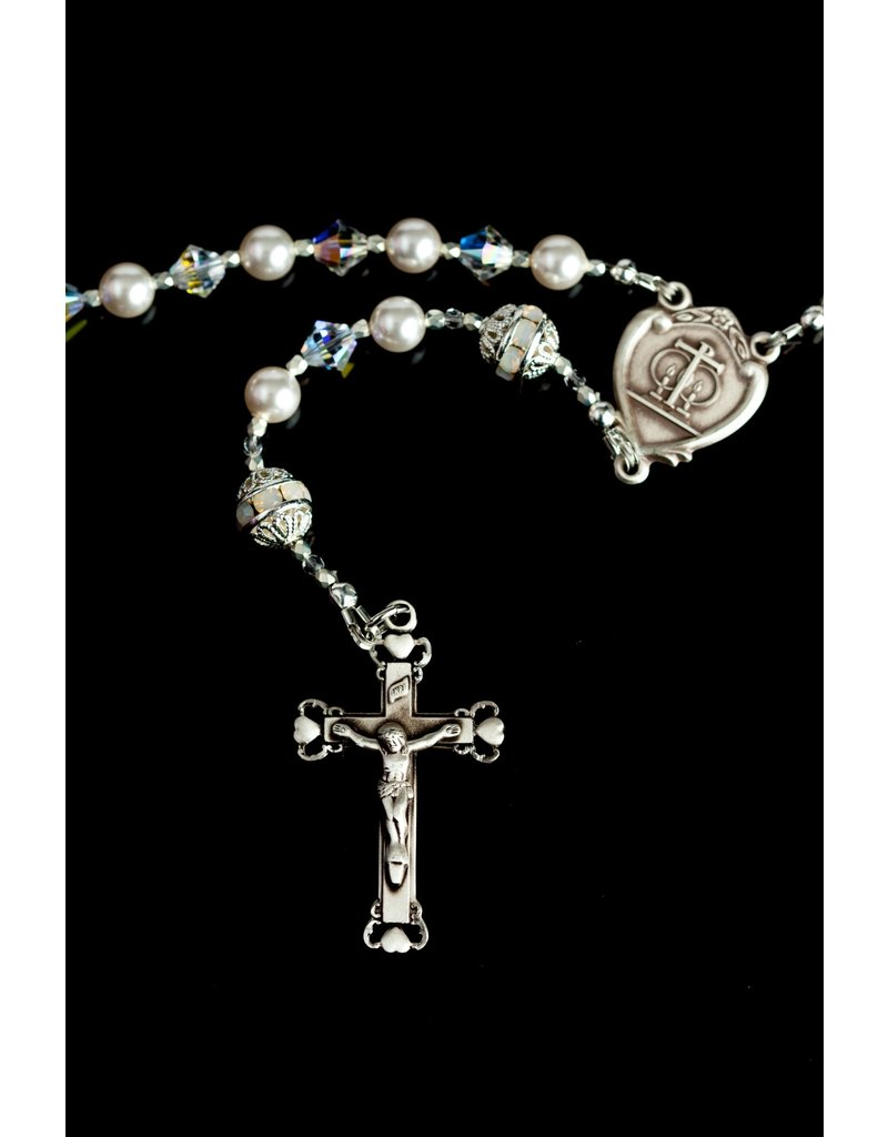 Artisan Jewelry Rosaries Wedding Rosary Artisan Heirloom Collection