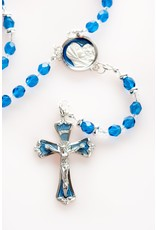 Artisan Jewelry Rosaries Colbalt Blue Rosary Artisan Heirloom Collection