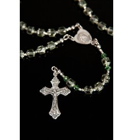 Artisan Jewelry Rosaries Mint Cathedral Rosary Artisan Heirloom Collection