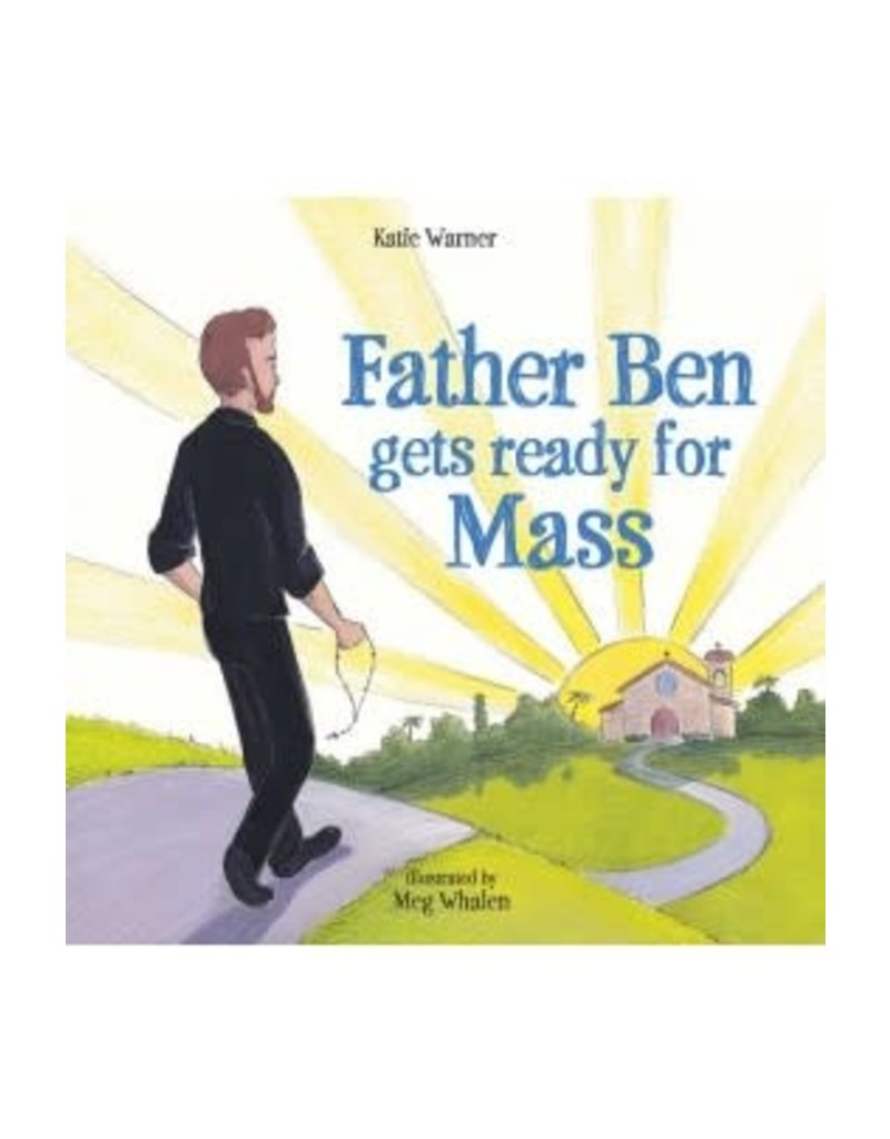 Tan Books Father Ben Gets Ready For Mass