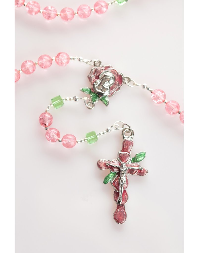 Artisan Jewelry Rosaries Rose Petal Rosary Artisan Heirloom Collection