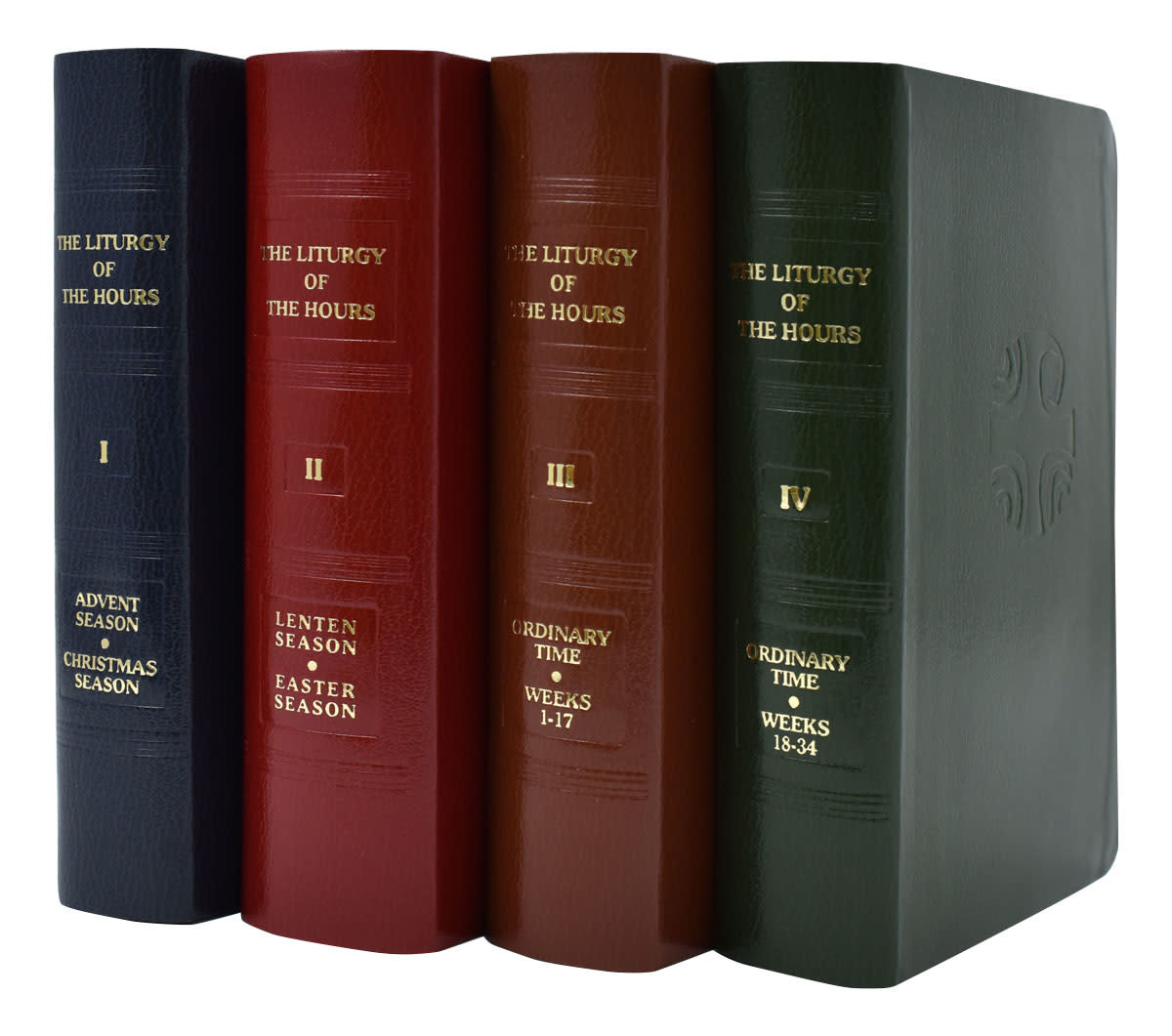 Catholic Book Publishing Corp Liturgy of the Hours (4 Volume Set)
