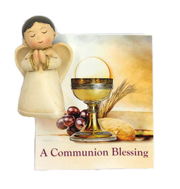 WJ Hirten First Communion Blessing Angel and Prayer