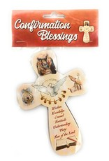 WJ Hirten Confirmation Blessings Wall Cross