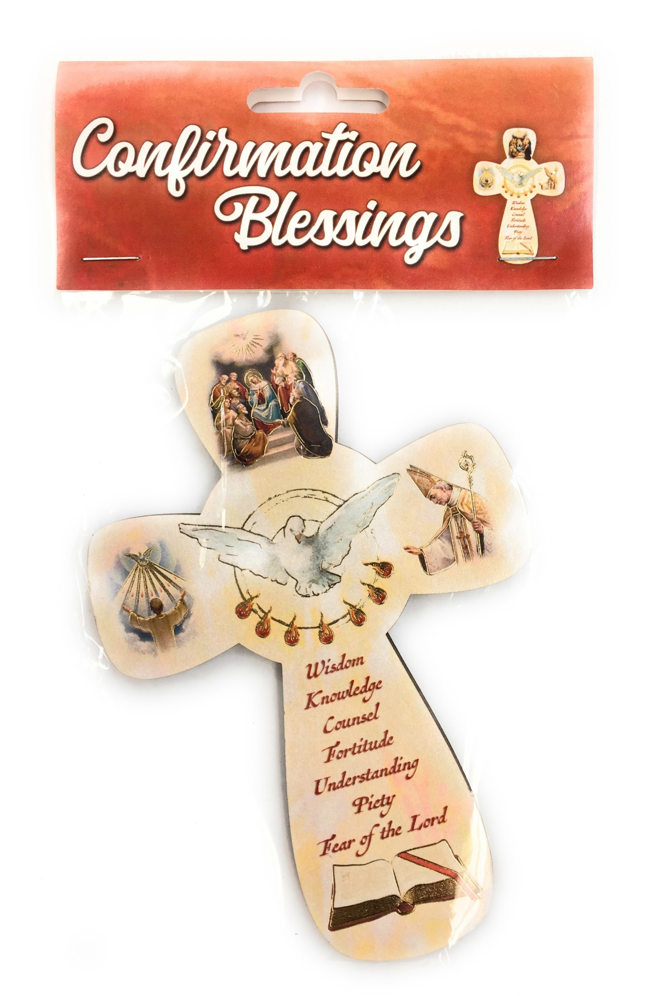 WJ Hirten Confirmation Blessings Wall Cross