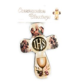 WJ Hirten First Communion Blessings Wall Cross