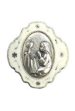 WJ Hirten First Communion Girls Keepsake Rosary Box