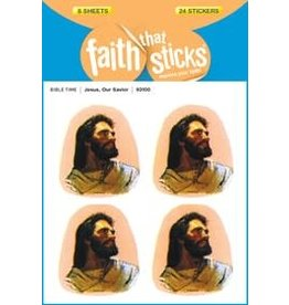 Tyndale House Publishers Sticker-Jesus Our Savior (6 Sheets) (Faith That Sticks)