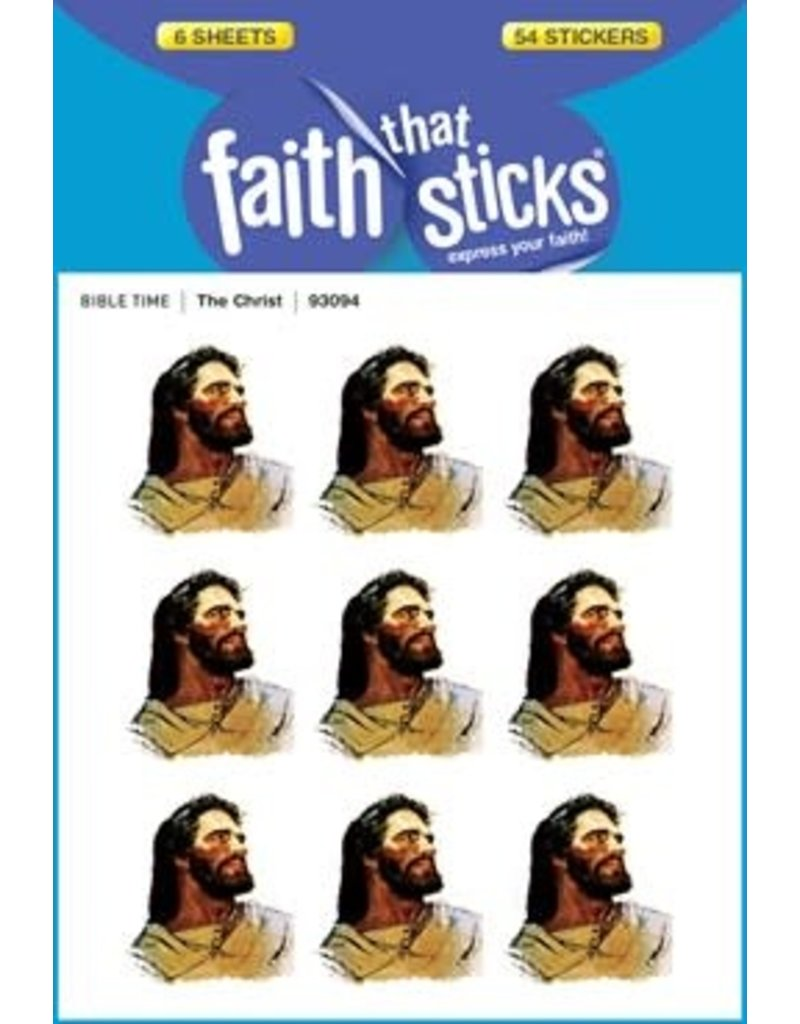 Tyndale House Publishers Sticker-The Christ (6 Sheets) (Faith That Sticks)