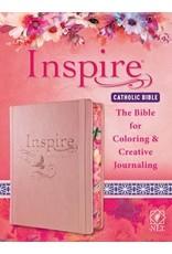 Tyndale House Publishers New Living Translation Catholic Bible Pink Inspire