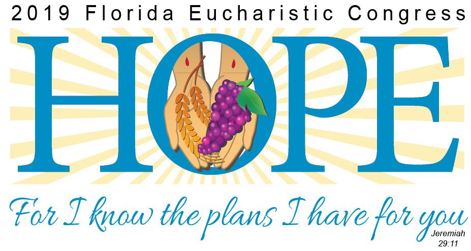 2019 Florida Eucharistic Congress Logo