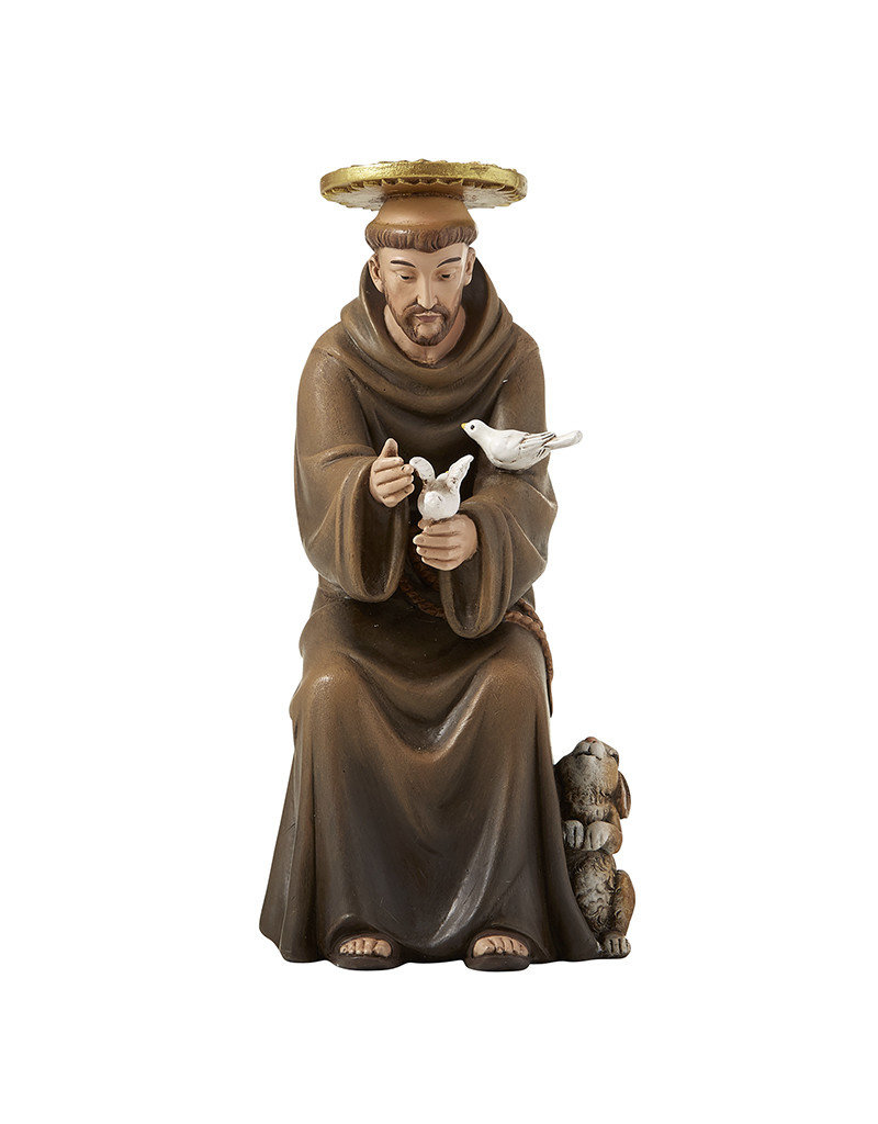 """Christian Brands St. Francis of Assisi 6"""" Hummel Statue"""