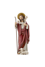 "Christian Brands Good Shepherd 8"" Hummel Statue of Jesus and Sheep"