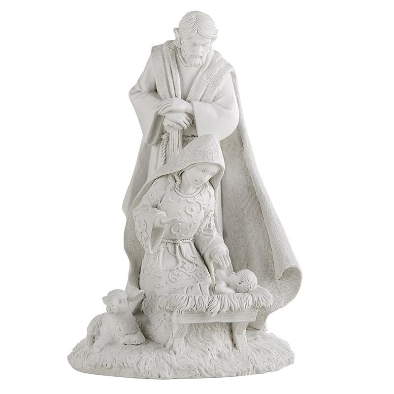 "Christian Brands Cielo Collection Holy Family Nativity Figurine Scene 8"""