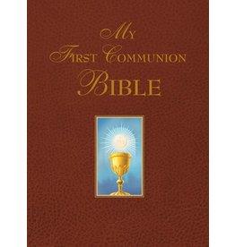 Saint Benedict Press My First Communion Bible (Burgundy)