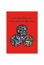 The Printery House Sacrament of Initiation RCIA Greeting Card