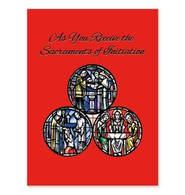 The Printery House Sacrament of Initiation RCIA Greeting Card
