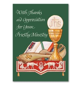 The Printery House Priest Appreciation Priestly Ordination Anniversary Greeting Card