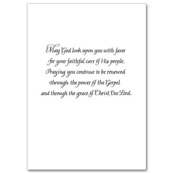 The Printery House Priest Appreciation Priestly Ordination Anniversary Greeting Card