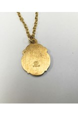 """Gold filled St. Jude Medal on 18"""" Chain"""