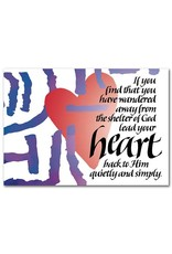 The Printery House Return to God Encouragement Greeting Card