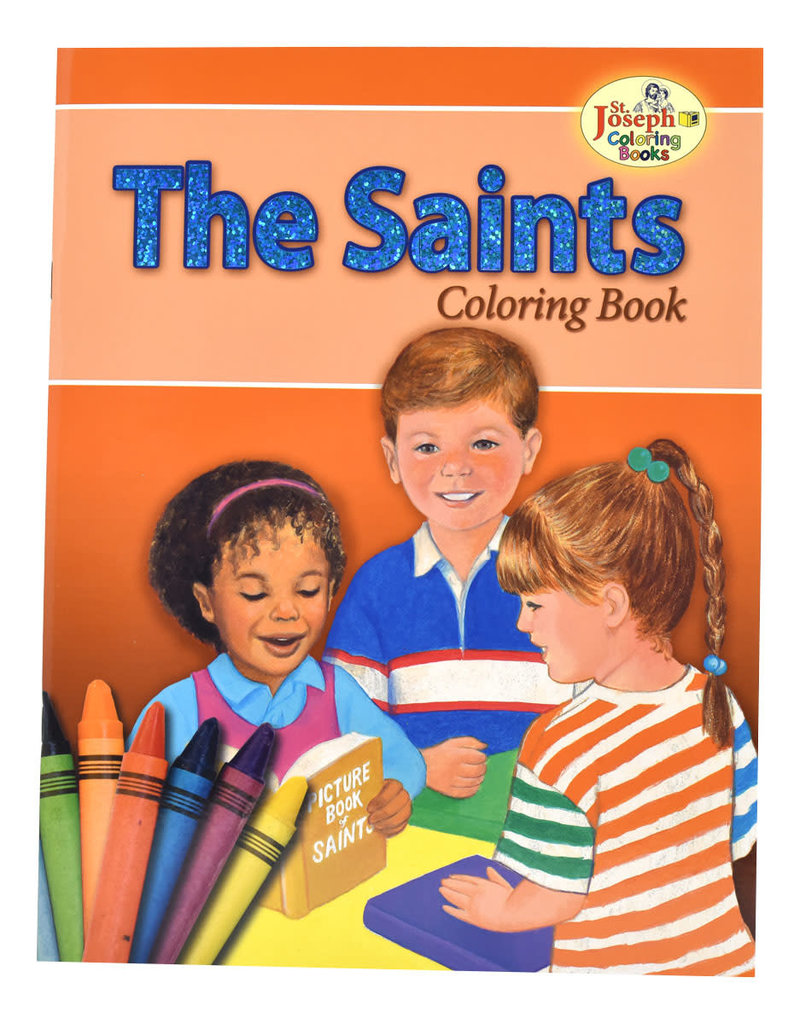 Catholic Book Publishing Corp The Saints Coloring Book For Children