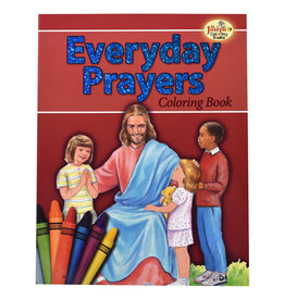 Catholic Book Publishing Corp Everyday Common Catholic Prayers Coloring Book For Children
