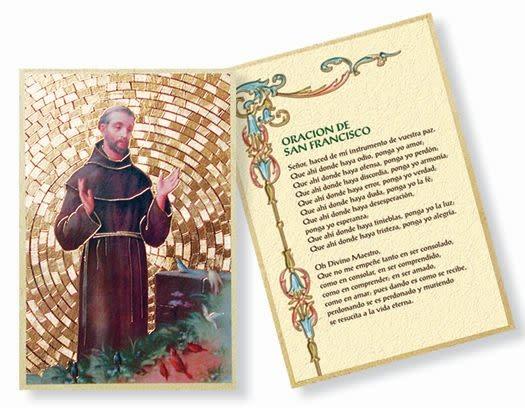 WJ Hirten Oracion De San Francisco St. Francis Mosaic Plaque