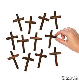 Oriental Trading Wooden Mini Cross