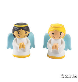 Oriental Trading Angel Squishie (Black Hair)
