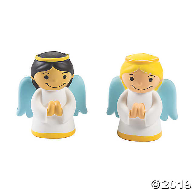 Oriental Trading Angel Squishie (Yellow Hair)