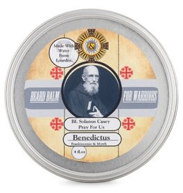 Glory and Shine Frankincense & Myrrh Beard Balm 4 oz Tin